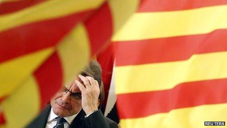 CiU leader Artur Mas (25 Nov)
