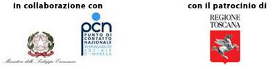 in collaborazione con ministerto sviluppo economico pcn - con il patrocinio di regione toscana