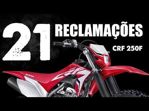 21 reclamações sobre a Honda CRF 250F