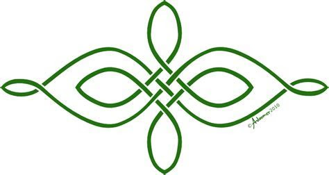 Corner celtic knot pattern by adoomer on Clipart library