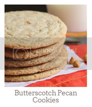 """Butterscotch Pecan Cookies"""