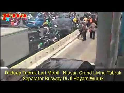 Mobil Pelaku Tabrak Lari Kejebak Di Jalur Busway, Langsung Diamankan Polsek Metro Tamansari