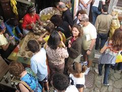 Santa Teresa bread vendor