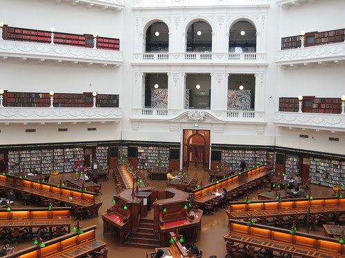 Reading room State Library of Victoria
