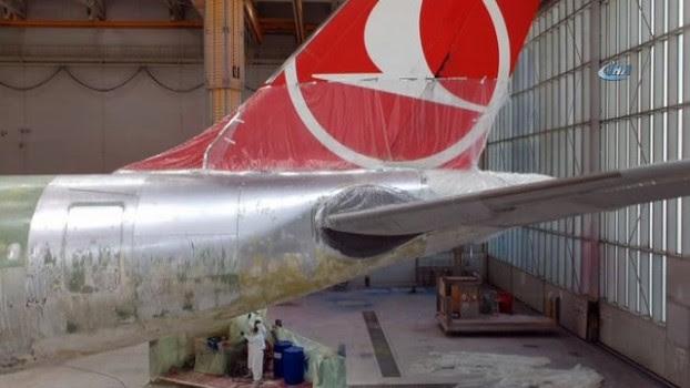 Thy Birçok Havayolu şirketine Uçak Boyama Hizmeti Veriyor