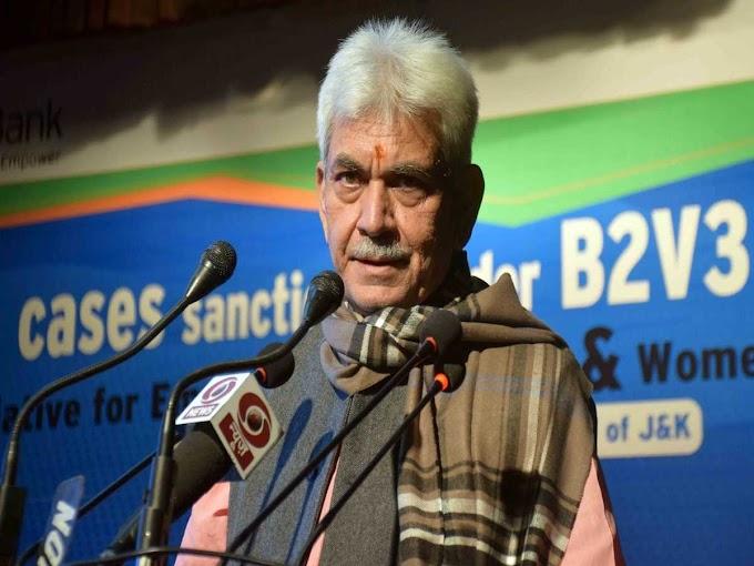 J&K bifurcation rumours spread by anti-national elements: Manoj Sinha