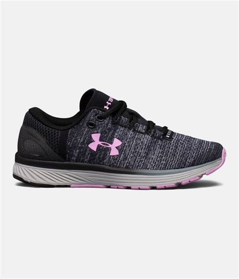 girls grade school ua charged bandit  running shoes  armour