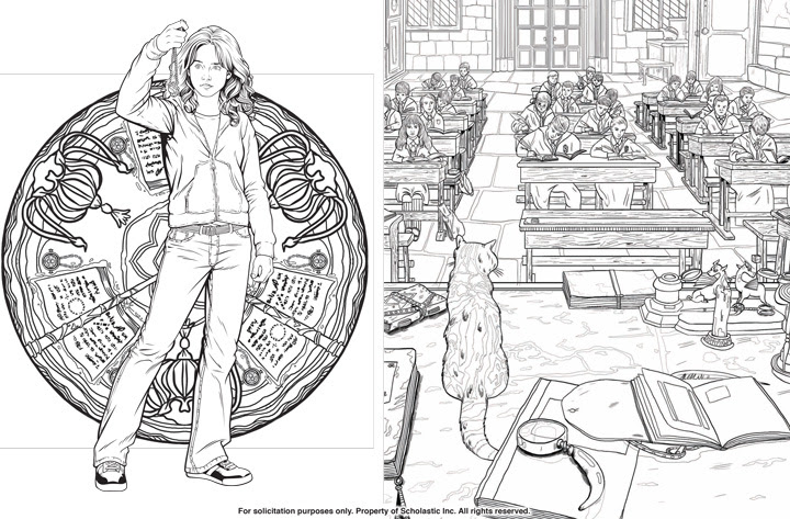97 Coloring Book Harry Potter Free Images