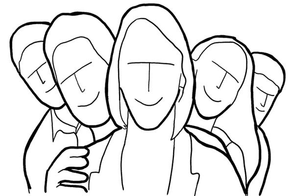 Позирование: позы для групповых портретов 9
