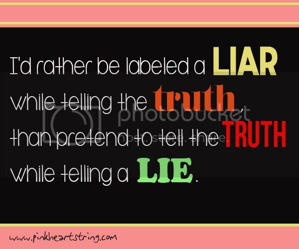 lies truth quote