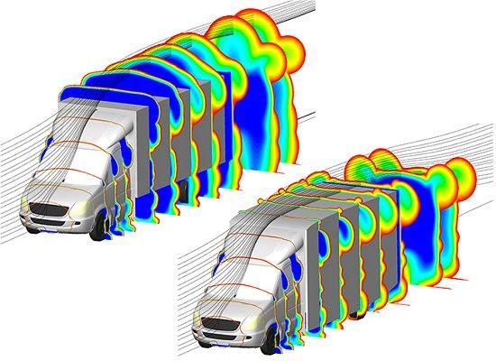Por que os caminhões não aproveitam a aerodinâmica?