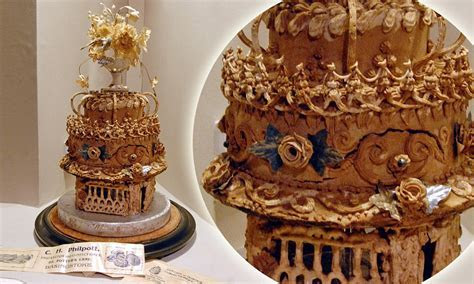World's oldest wedding cake made in 1898 survived WW2 bomb