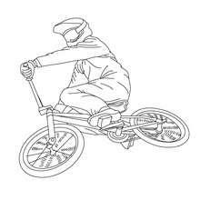 Dibujos Para Colorear Carrera De Bicicletas Eshellokidscom