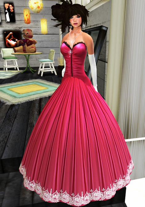 ~*~Felicia's Fashions~*~ Juliet 2 - Hibiscus