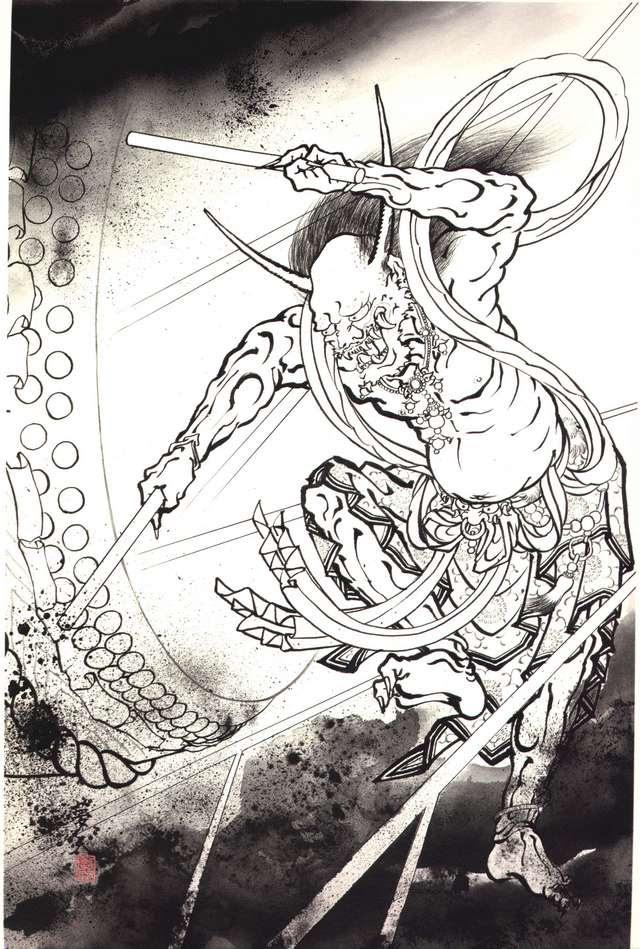 Thetattoocollection Horiyoshi Iii Demons Japanese Tattoo 119 Of