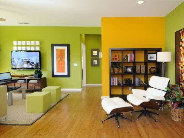 Iki Renkli Duvar Boyası Uygulamaları 2016 Boya Renkleri