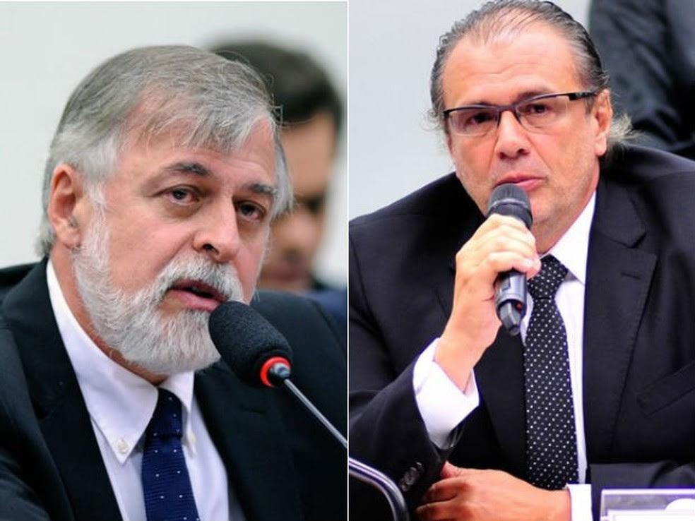 Paulo Roberto Costa e Pedro Barusco foram ouvidos por Moro nesta quarta (Foto: Lúcio Bernardo Jr/Câmara dos Deputados e Zeca Ribeiro/Câmara dos Deputados)