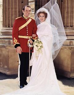 Mark Phillips Princess Anne Wedding Dress