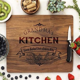 Custom Grandma's Kitchen Cutting Board ? Stamp Out
