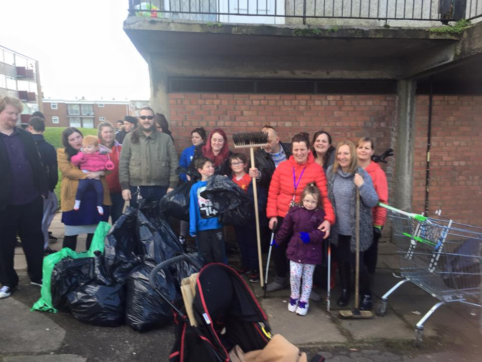 Northville Community Litter Pick Group Photo