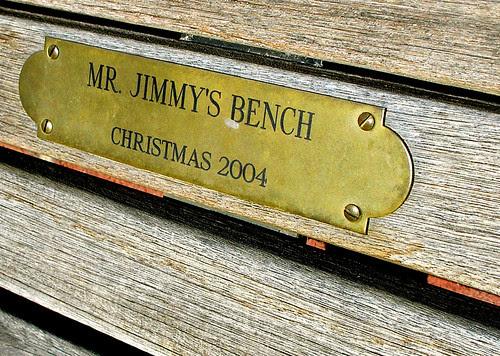 Mr Jimmy's Bench - Excelsior