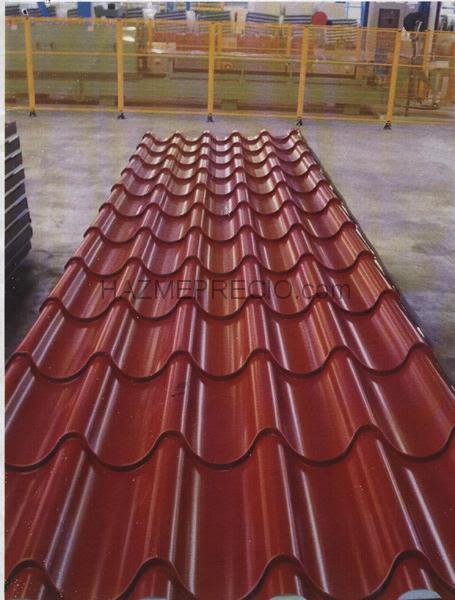 Dormitorio muebles modernos tejados de chapa imitacion teja for Tejados de chapa