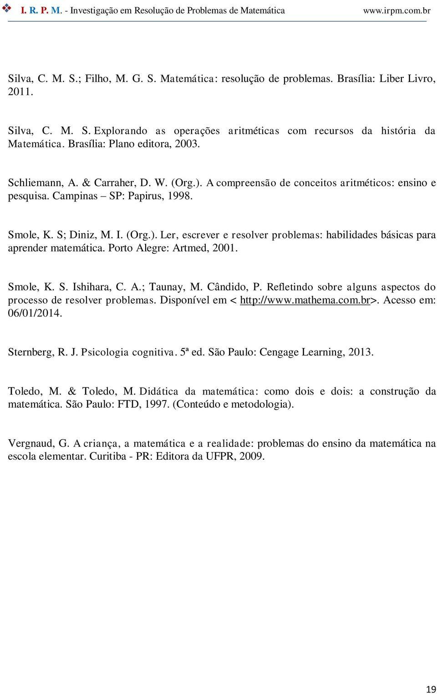 Diferentes Tipos De Problemas No Ensino Da Matematica Pdf Download Gratis