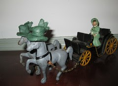 coach horses by Teckelcar