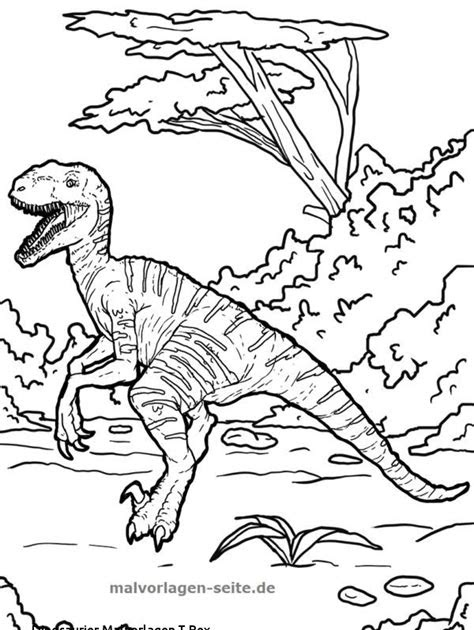 malvorlage dinosaurier t-rex - kostenlose malvorlagen ideen