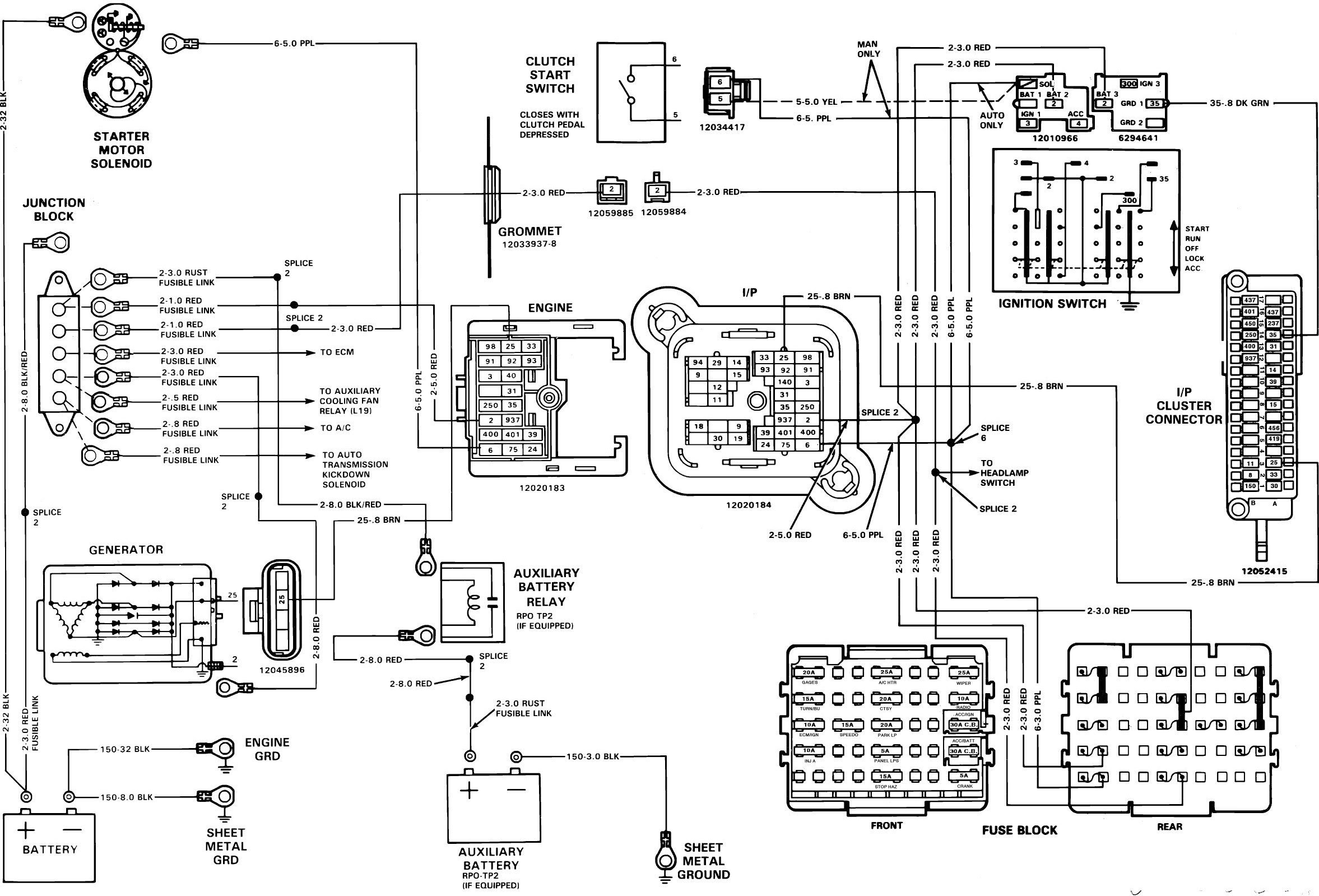 89 Chevy Kodiak Wiring Diagram