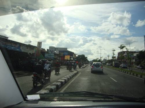 По пътищата на Индонезия