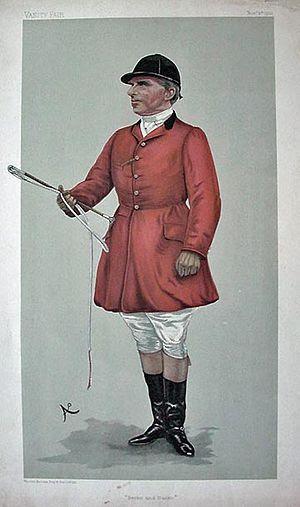 Caricature of Sir Robert Rodney Wilmot (1853-1...
