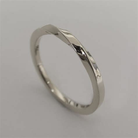 Mobius Ring   Platinum Ring , Wedding Ring , Platinum
