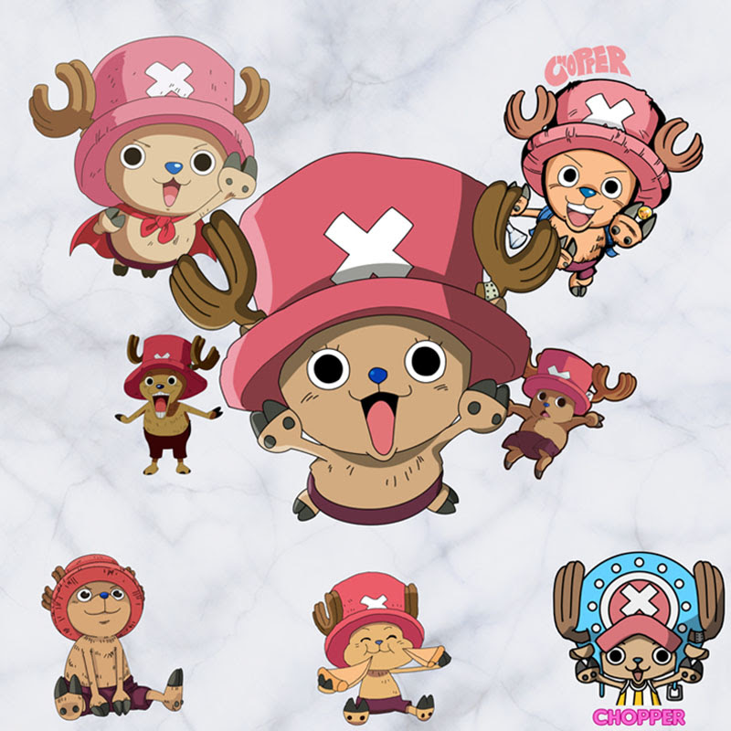 60 45 Cm One Piece Anime Stiker 3d Efek Visual Wallpaper Tony Tony Chopper Stiker Monkey D One Piece Monkey D Luffy Kapal Mode Stiker St08 Aliexpress