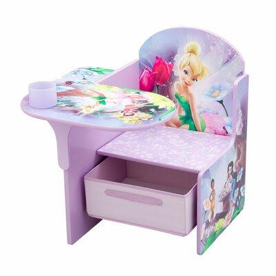 Delta Children Gray Disney Fairies Kid's Desk Chair   Wayfair