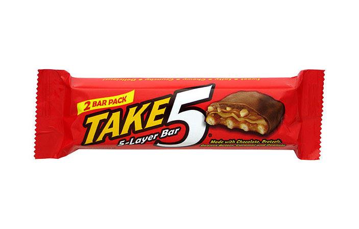 FREE Take 5 Candy Bar