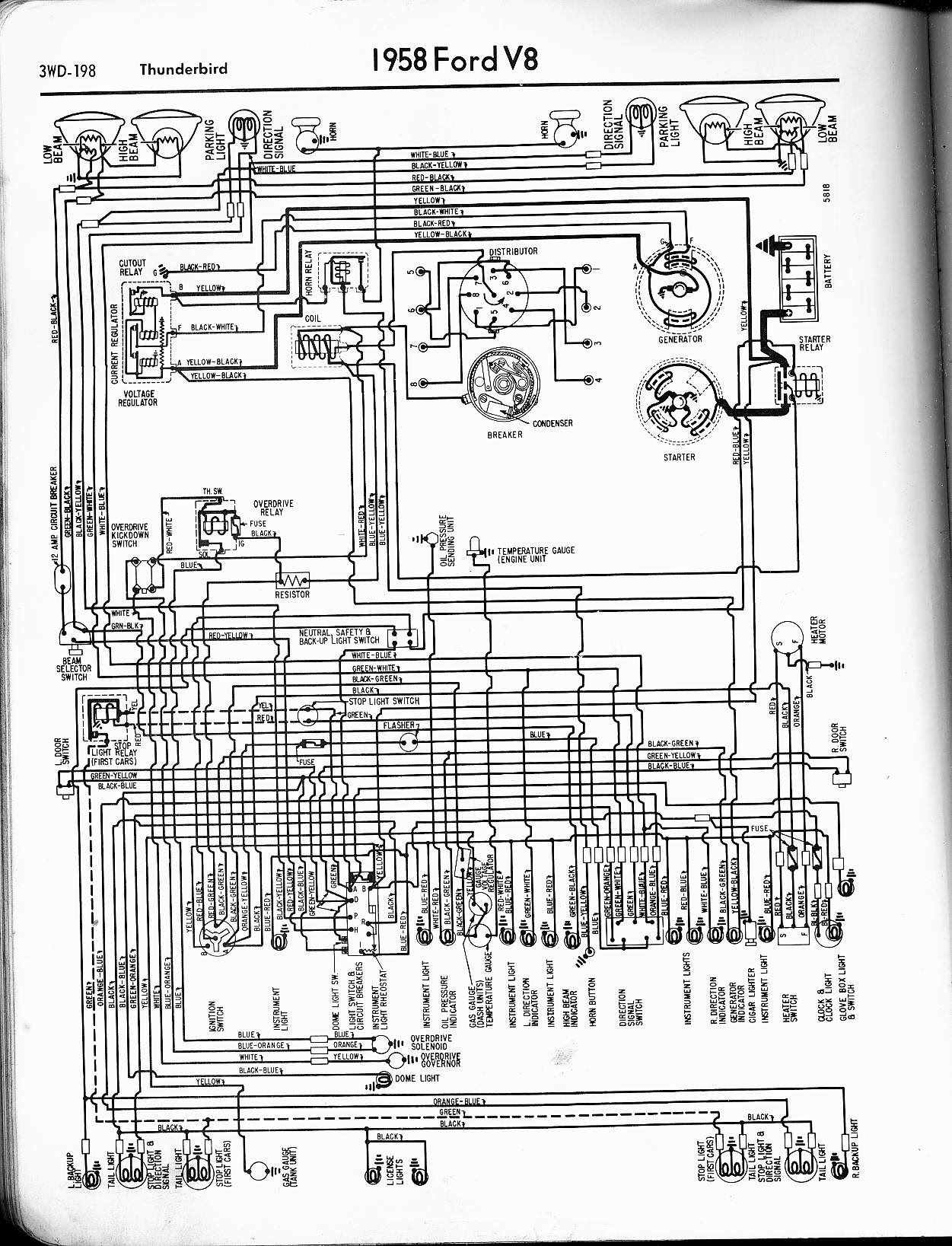 Ford Brake Light Wiring Diagram