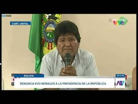 Morales pasó a la historia