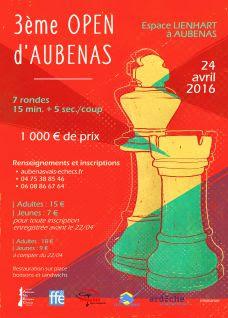 24 avril : Aubenas