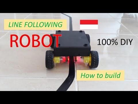 Membuat Line Following Robot Sederhana