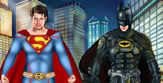 Süperman Ve Batman Giydirme Oyunu Oyna Giydirme Oyunları