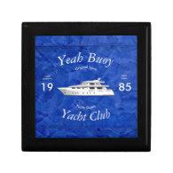 Yacht Club Yeah Buoy Trinket Boxes