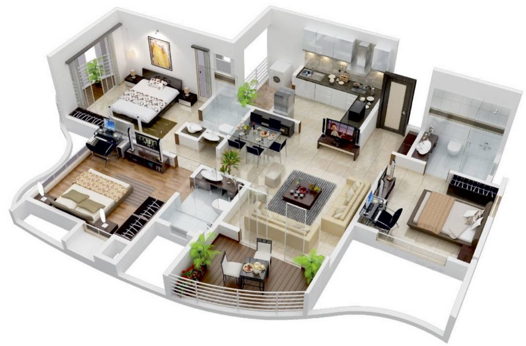 Planos para casas modernas