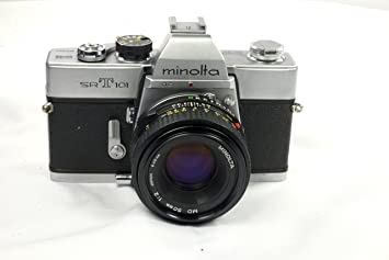 Minolta Srt 101 35mm Film Camera