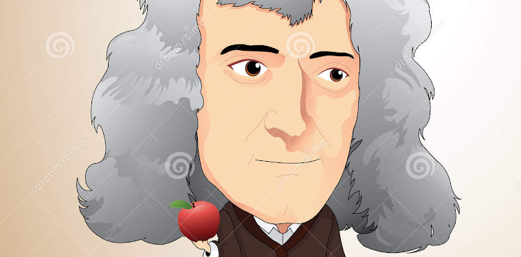 Isaac Newton Cartoon Picture