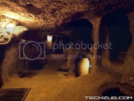 Unusual Underground City at Cappadocia