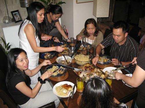 Dinner @ Ezel's house