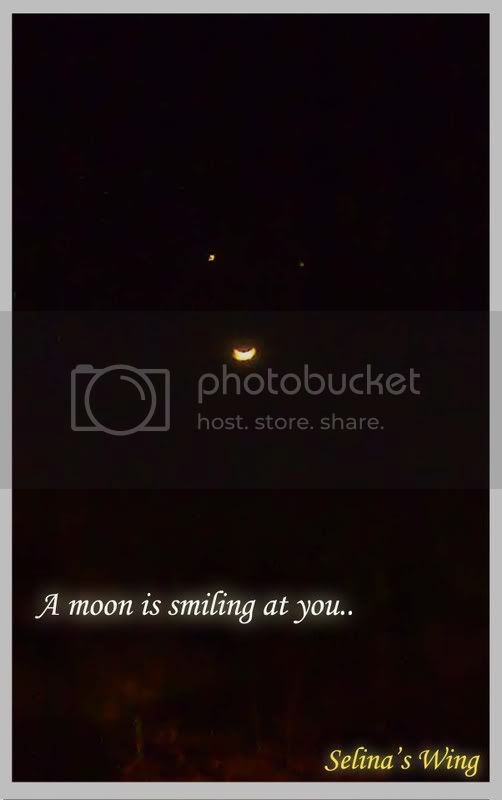 smilling moon