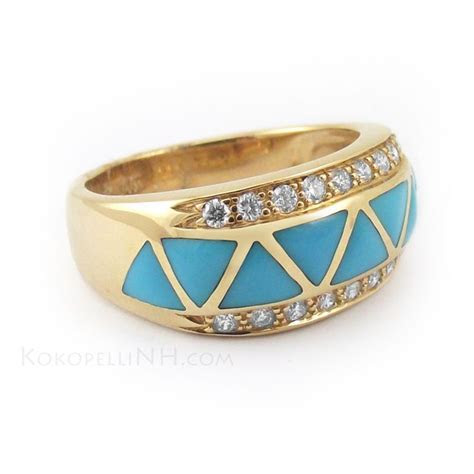 8 best Men's Gold Turquoise Rings images on Pinterest