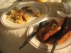 wife's breakfast on the silver meteor